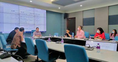 ผู้อำนวยการสำนักงานอธิการบดีร่วมประชุมพัฒนาตัวบ่งชี้และเกณฑ์การประเมินระดับสำนักและสถาบัน ครั้งที่ 2/2564